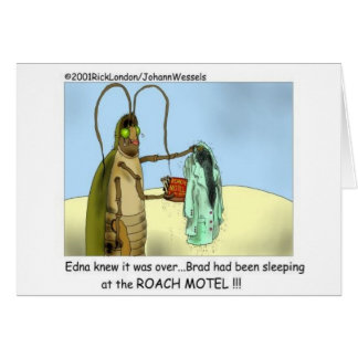 Roach Infidelity Funny Gifts, Tees, & Collectibles Card