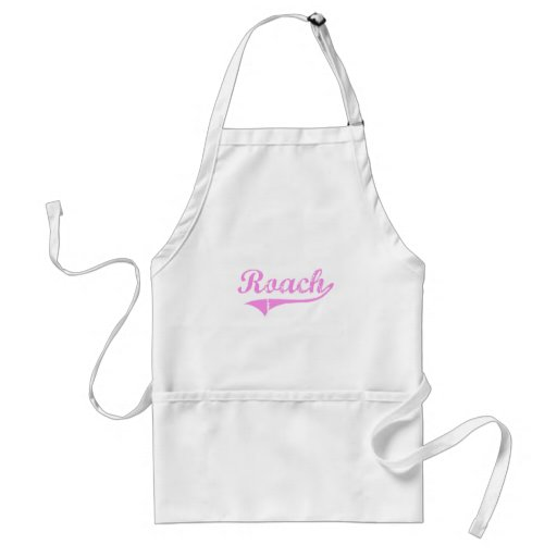 Roach Last Name Classic Style Aprons