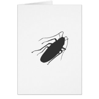 Roaches! Yick! Card