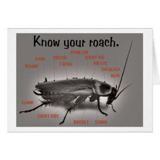 RoachWear Greeting Card