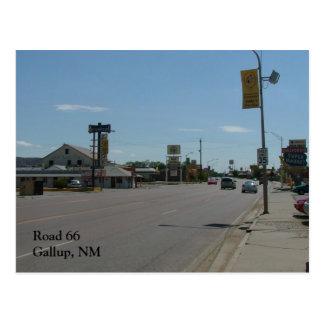 Road 66 - Gallup Postcard