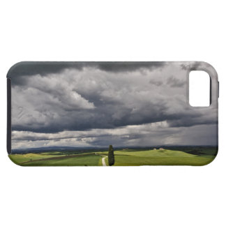 Road and storm clouds, rural Tuscany region, iPhone SE/5/5s Case