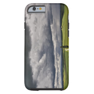 Road and storm clouds, rural Tuscany region, Tough iPhone 6 Case