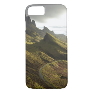 Road ascending The Quiraing, Isle of Skye, iPhone 7 Case