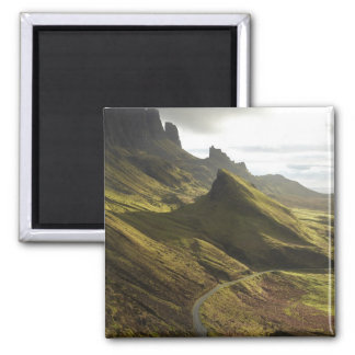 Road ascending The Quiraing, Isle of Skye, Magnet