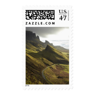 Road ascending The Quiraing, Isle of Skye, Postage