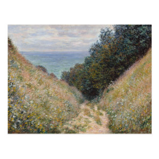 Road at La Cavee Pourville by Claude Monet Postcard