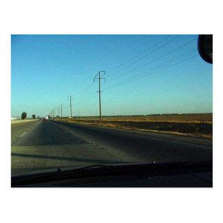 Road Bakersfield Postcard