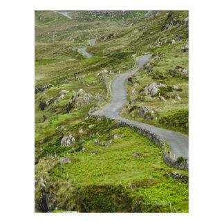 Road between Ballaghacahreen and Caherkeen. Postcard