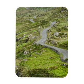 Road between Ballaghacahreen and Caherkeen Rectangular Magnet