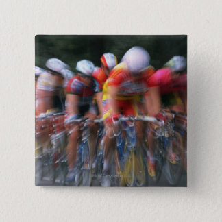 Road bicycle racing button
