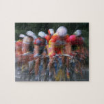 Road bicycle racing jigsaw puzzle