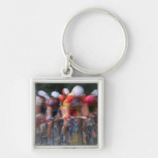 Road bicycle racing keychain