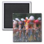 Road bicycle racing magnet