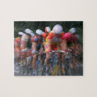 Road bicycle racing puzzle
