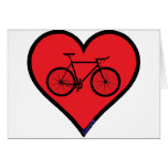 road bike greeting cards