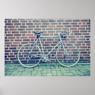 road bike poster