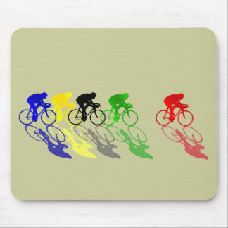 Road Bike Road Racing  Cycling Mouse Pad