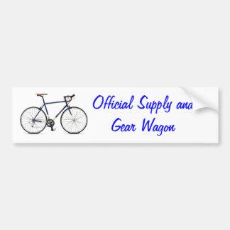 Road Bike SAG Wagon Car Bumper Sticker