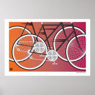Road Bikes-Print