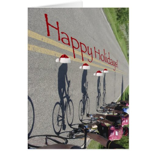 Road Biking! Greeting Card