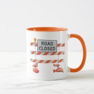 Road Block Mug