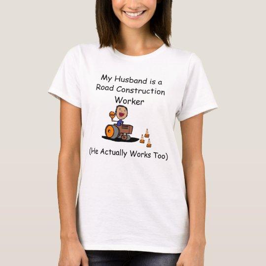 Road Construction Worker T-Shirt