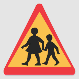 Road Crossing stickers