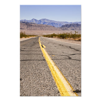 Road Death Valley Photographic Print
