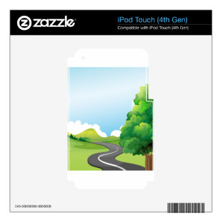 Road Decals For iPod Touch 4G