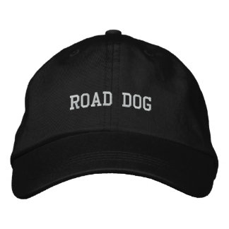 ROAD DOG EMBROIDERED BASEBALL CAP