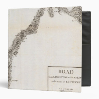 Road from Limestone to Frankfort 3 Ring Binder
