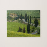 Road from Pienza to Montepulciano, 2 Jigsaw Puzzle