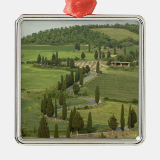 Road from Pienza to Montepulciano, Metal Ornament