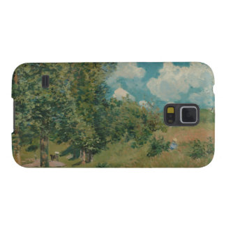 Road from Versailles to Saint-Germain by A. Sisley Case For Galaxy S5