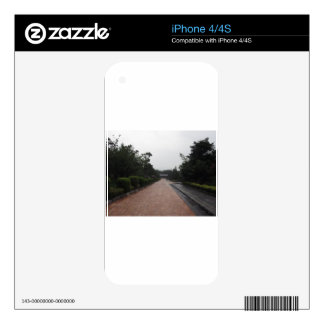 road & garden decal for iPhone 4S