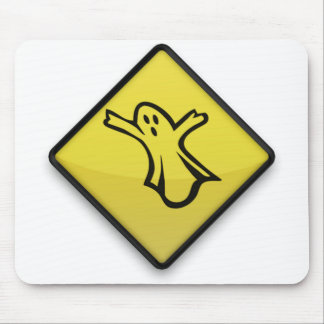Road ghost mouse pad