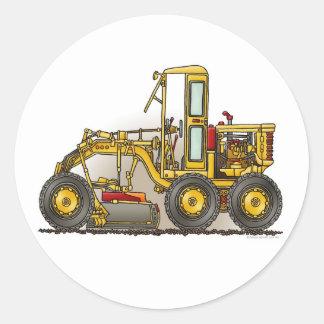 Road Grader Construction Sticker