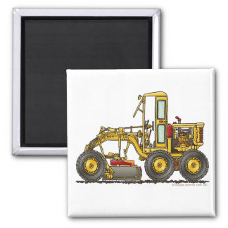Road Grader Dirt Scraper Construction Magnets