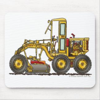Road Grader Dirt Scraper Construction Mouse Pad