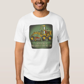 Road Grader Operator Quote Mens T-Shirt