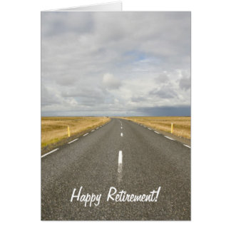 Road Happy Retirement Card