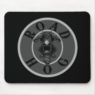 Road Hog in Grey Mouse Pad
