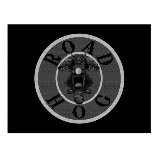 Road Hog in Grey Postcard
