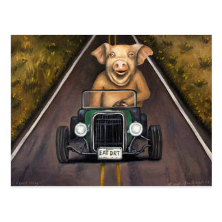Road Hog Postcard