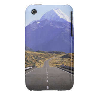 Road into Mount Cook National Park, New Zealand iPhone 3 Case-Mate Cases
