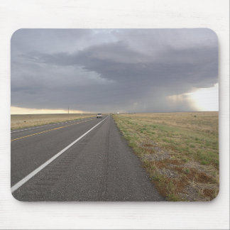 Road Into The Storm Mouse Pad