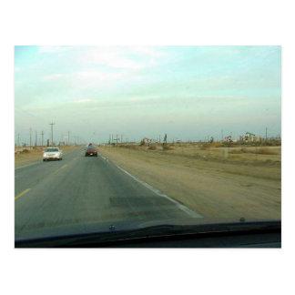 Road Kern County Postcard