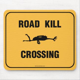 Road Kill Crossing Mouse Pad