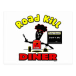 Road Kill Diner Business PostCard